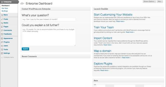 WordPress Introduces Unlimited Scalable Business Blogging Platform