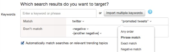 Targeting Options for Twitter Advertising