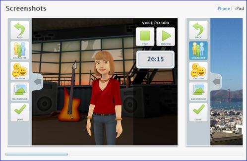 video storytelling app