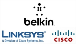 cisco linksys belkin