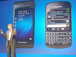 BlackBerry 10 launch small business productivity