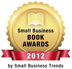 Small Business Book Awards 2012 logo