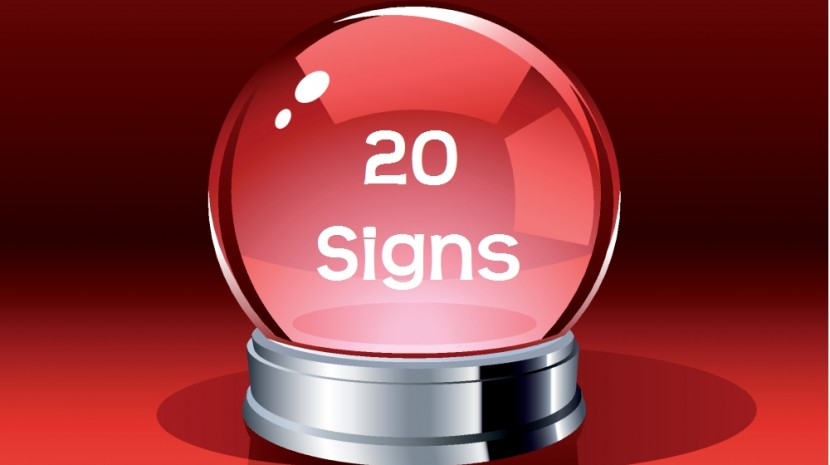 20 signs