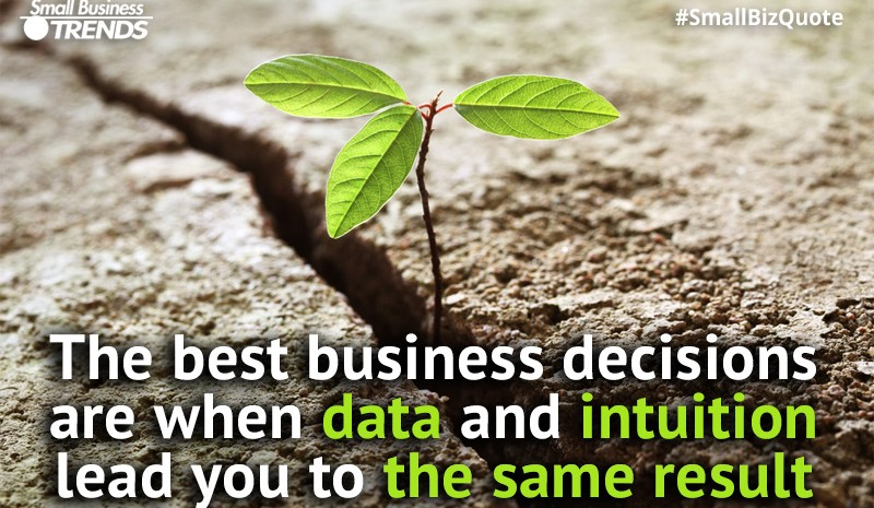 Best decisions - intuition and data in harmony