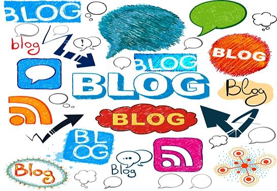 blogging collage