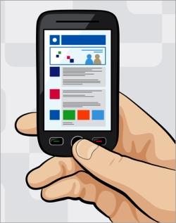 design a mobile website