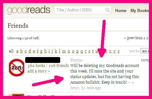 Goodreads defector