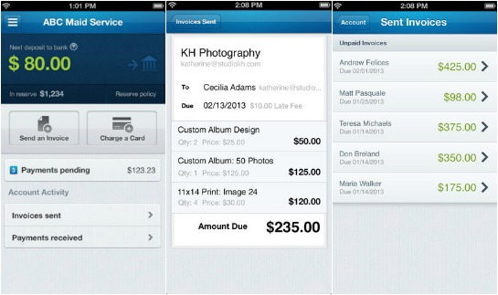 Send Invoices And Accept Credit Cards With WePays Payment App - How to send invoice paypal app
