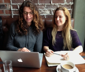 Founders of Writerly, a publishing marketplace