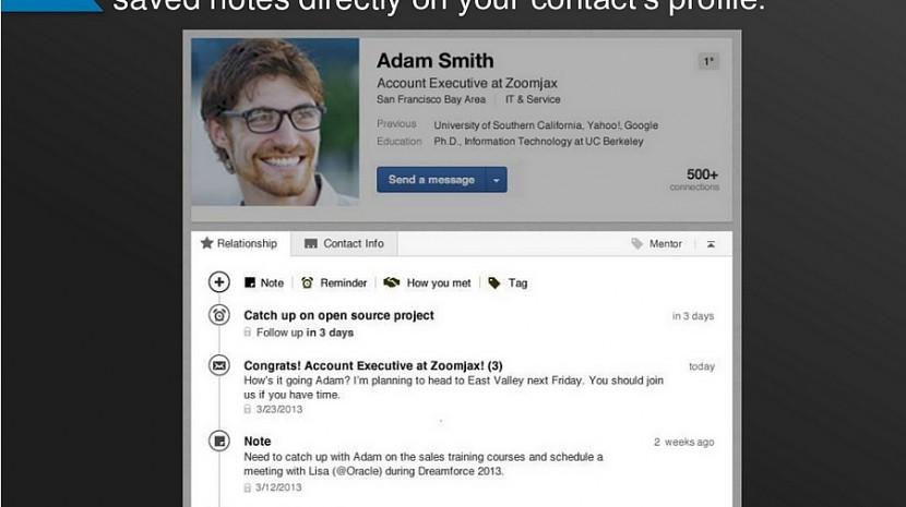 New LinkedIn Contacts