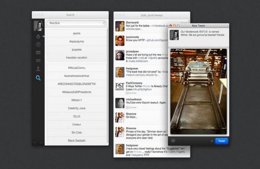 twitter on a mac