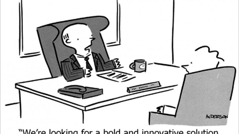 corporate cartoon