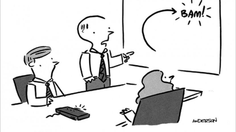 conference cartoon