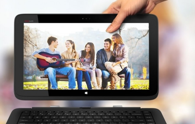 HP tablet laptop hybrid Split X2
