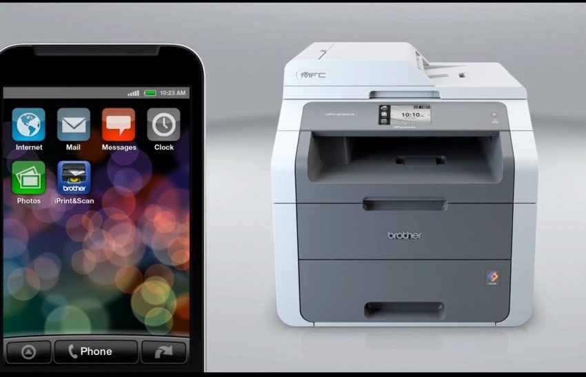 Brother printer smartphone