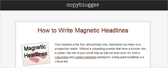blog ideas magnetic headlines