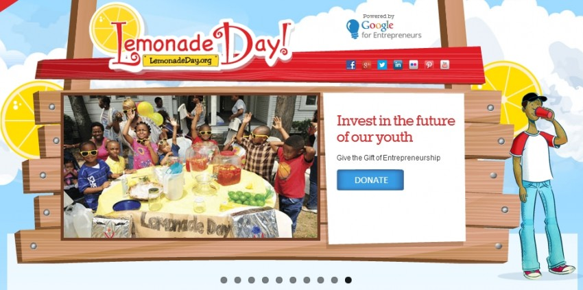 Lemonade Day for child entrepreneurs