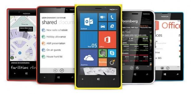 Nokia camera in smartphone