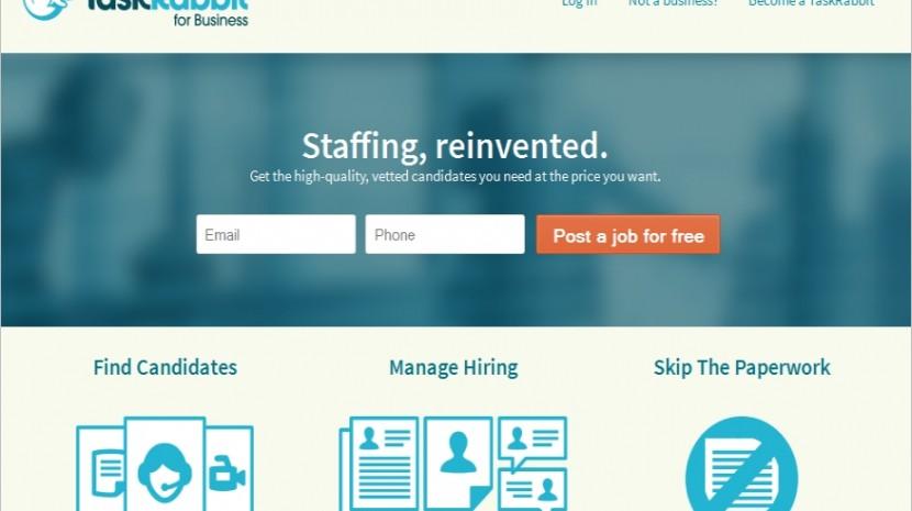 TaskRabbit Business Temporary workers