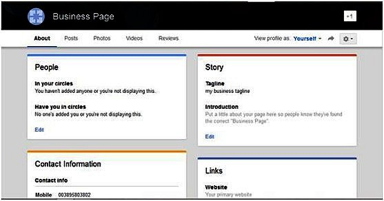 How to set up a google+ page for your business | codastar ltd.
