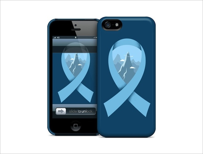 Crowdcases iPhone Case: Raising Awareness for Prostate Cancer and More