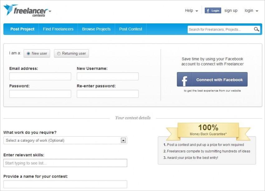 freelancer contests