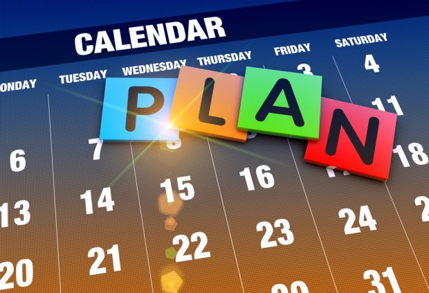 small business event planning - scheduling