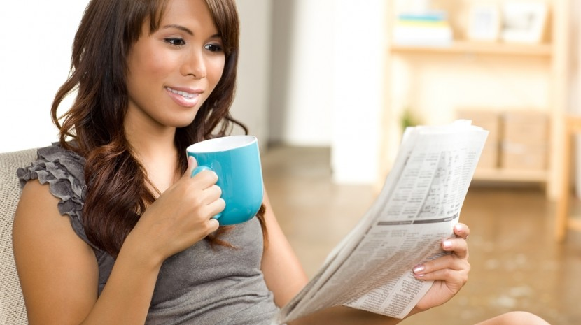 Reading small business news