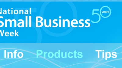 national small Business Week announcements