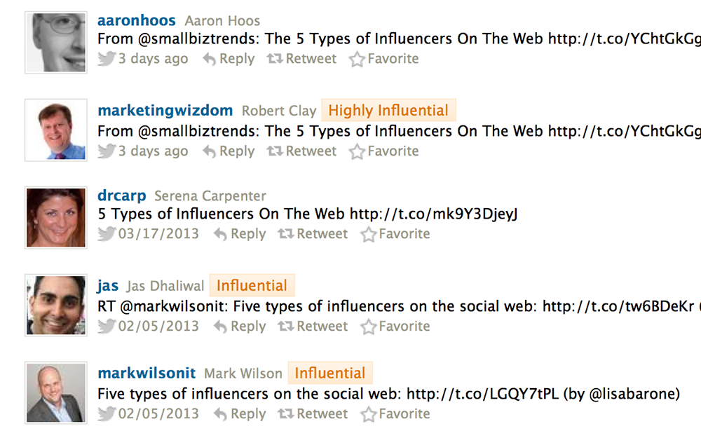 7 Free Tools to Find Twitter Influencers Who Interact with You