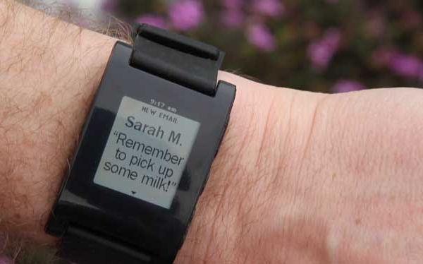 Pebble for business - smartwatch