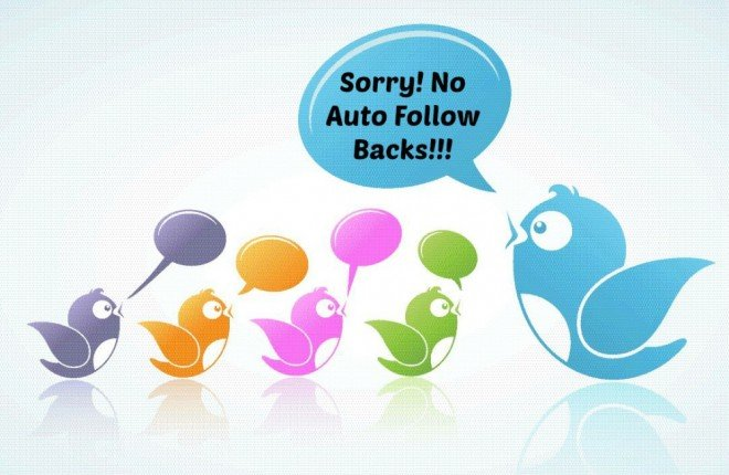 Twitter auto follow back