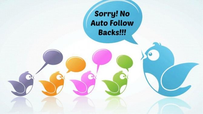 Twitter auto follow back