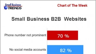 B2B small business website call to action statistics