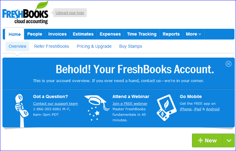 Freshbooks Warranty Support