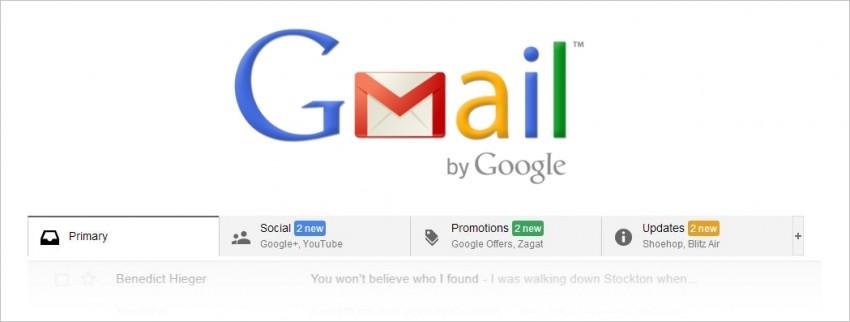gmail tabs unread