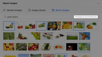 Shutterstock images for Facebook ads