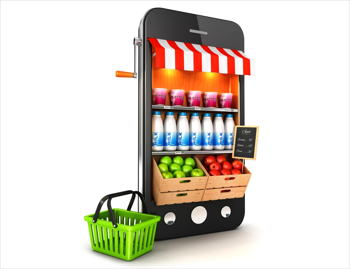 Small business mobile marketing strategy for Onlineshop fur mobel