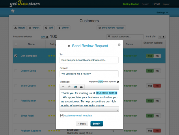 How to get positive customer reviews using Get Five Stars