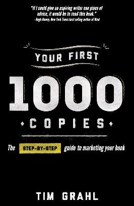 First 1000 Copies - book marketing