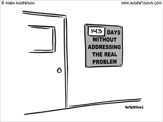 Ignoring the problem