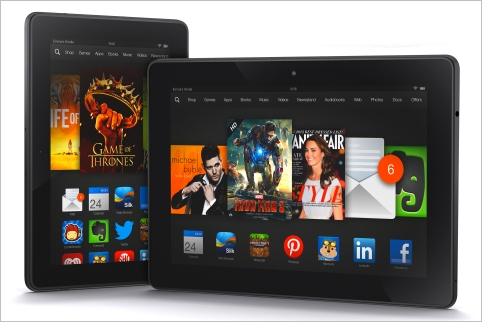 Kindle fire HD and HDX