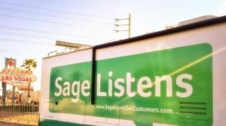 Sage Listens bus