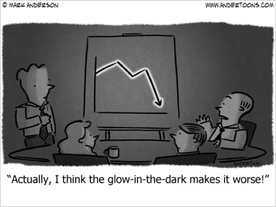 low sales depictions