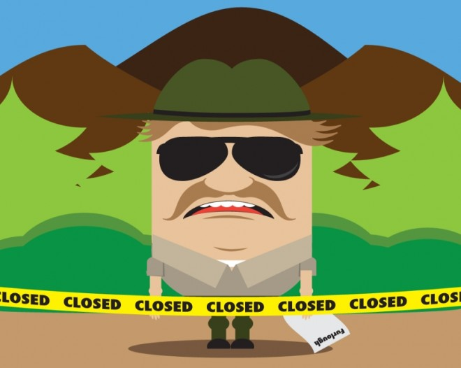 government shutdown national parks
