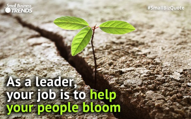 Help your employees bloom