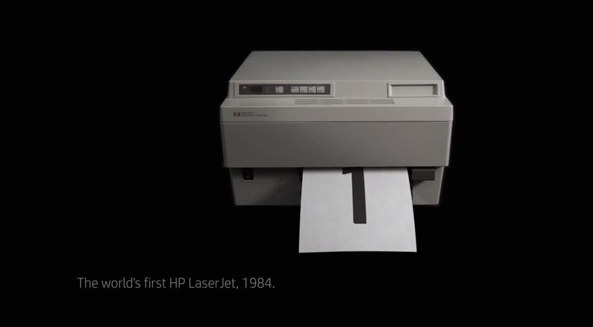 laserjet printer history