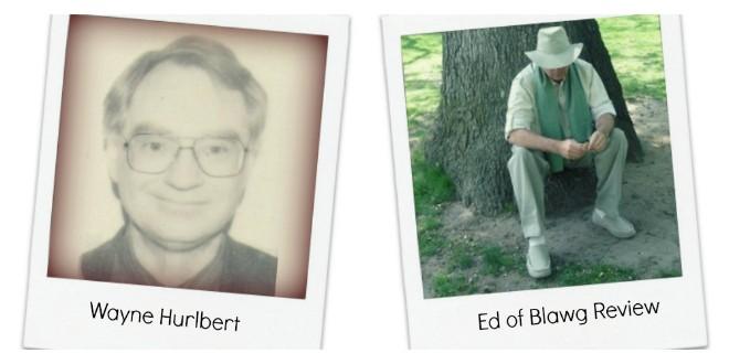Wayne Hurlbert - Ed of Blawg Review - what happens when bloggers die