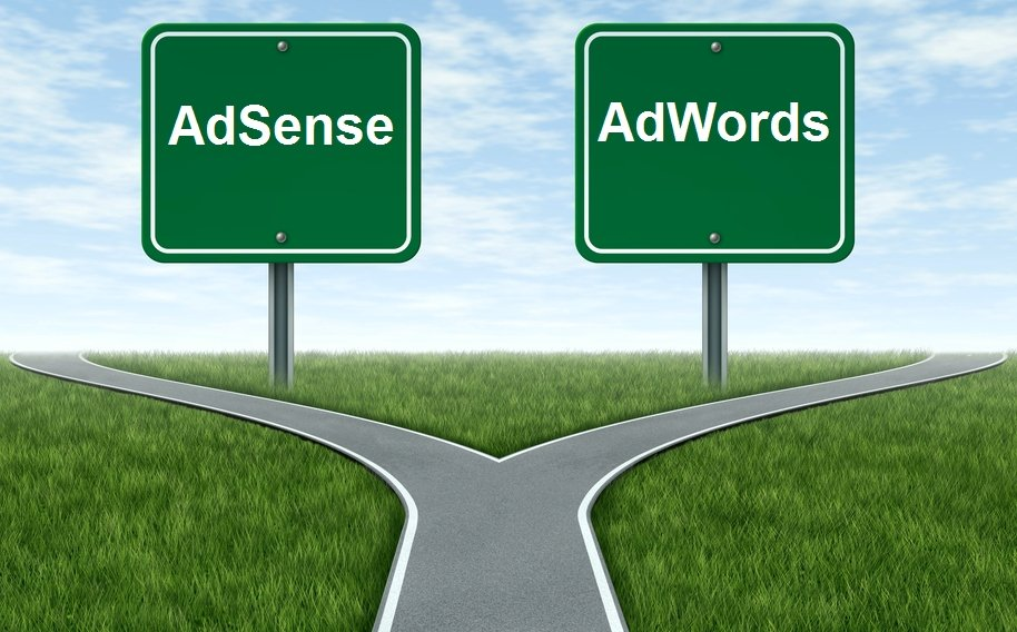 What is the difference between AdSense and AdWords?