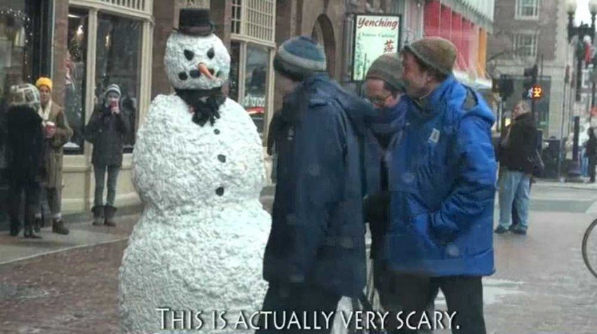business tips from freaky the scary snowman small business trends